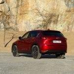 Prueba Mazda CX-5 Skyactiv-D 150 CV perfil trasero