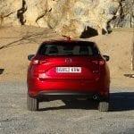 Prueba Mazda CX-5 Skyactiv-D 150 CV trasera