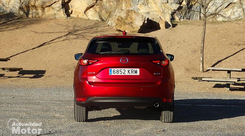 Prueba Mazda CX-5 parte trasera