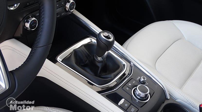 Prueba Mazda CX-5 interiores