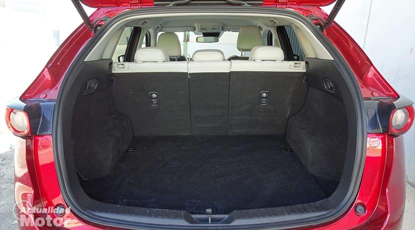 Maletero del Mazda CX-5