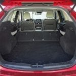 Prueba Mazda CX-5 diésel 150 CV maletero asientos traseros tumbados