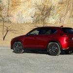 perfil trasero Prueba Mazda CX-5 Skyactiv-D 150 CV