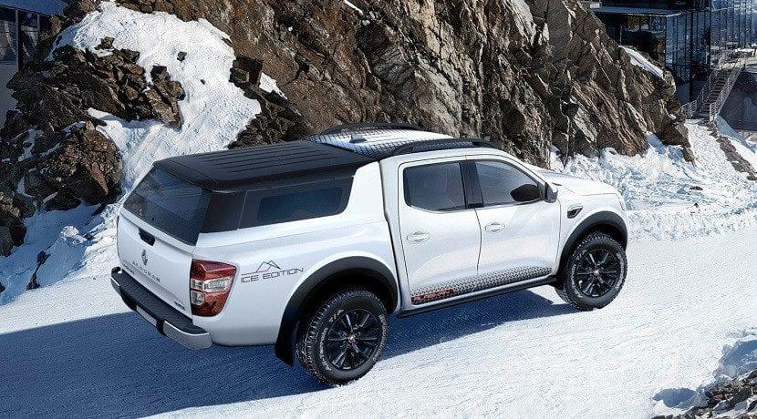 Trasera del Renault Alaskan Ice Edition Concept