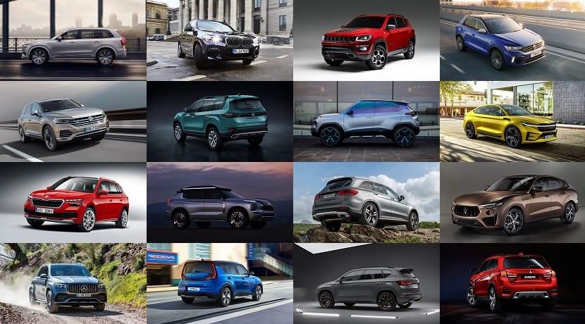 Todos los SUV del Salón de Ginebra