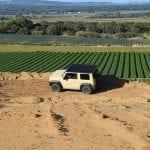 Suzuki Jimny inclinación lateral