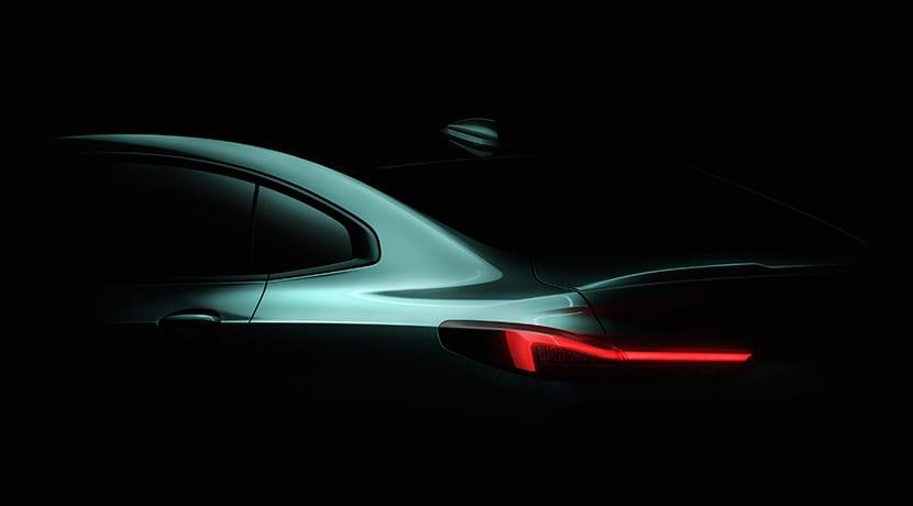 Teaser del BMW Serie 2 Gran Coupé 2020