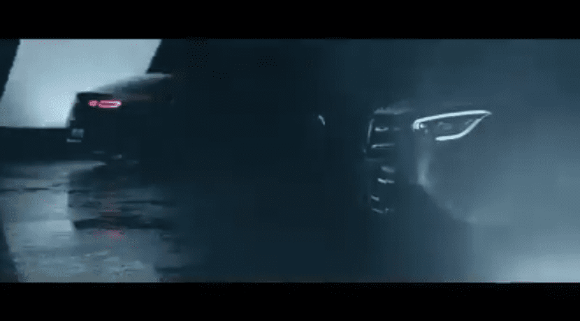 Teaser del Mercedes GLC Coupé