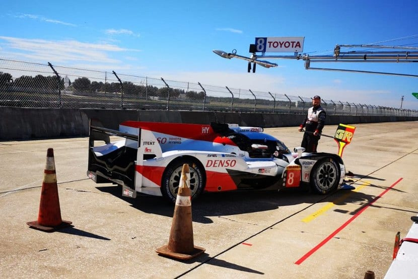 Toyota en el tests de Sebring