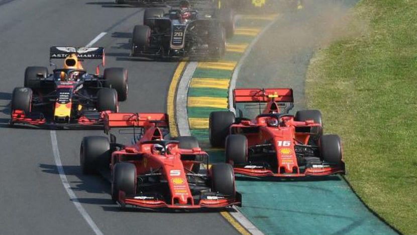 Vettel vs Leclerc 2019