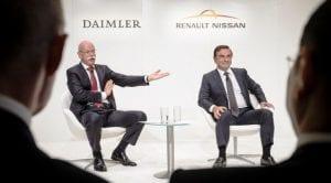 Asociación Daimler AG - Alianza Renault-Nissan-Mitsubishi