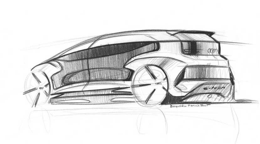Audi AI: ME concept teaser boceto