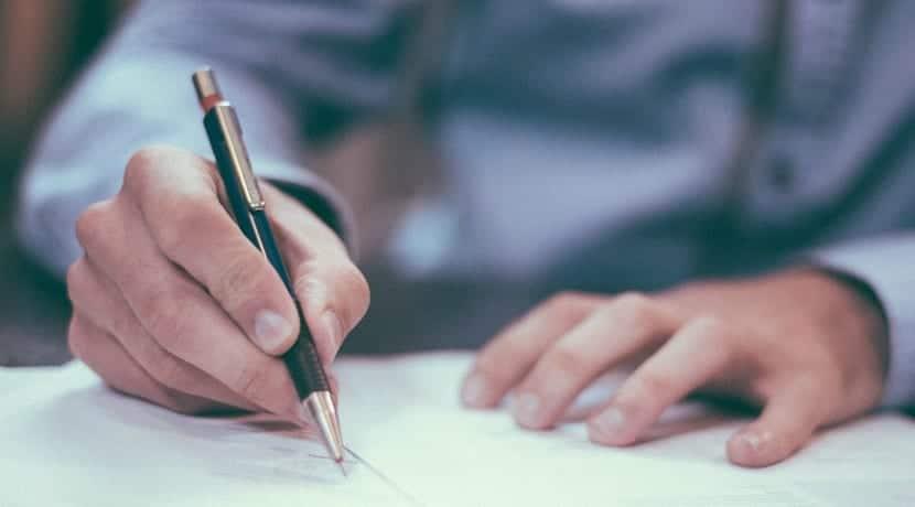 Firmar préstamo bancario