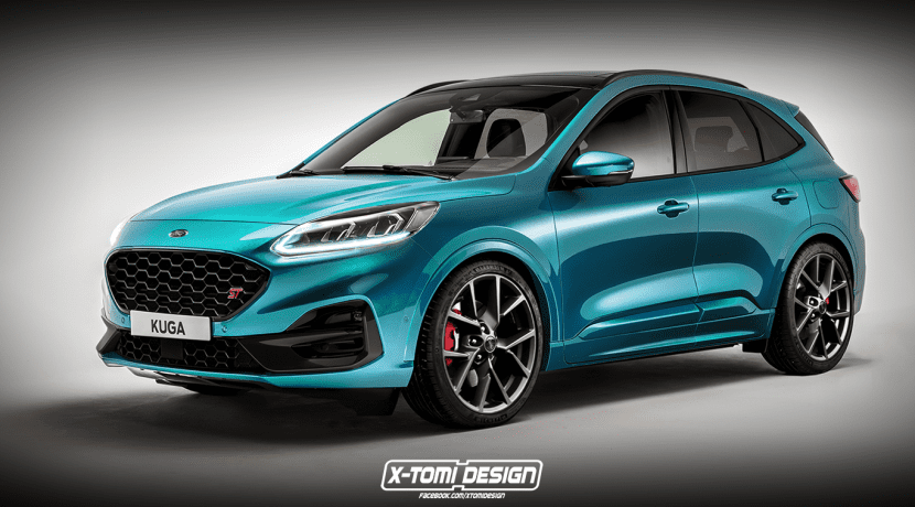 Ford Kuga ST X-Tomi Design render