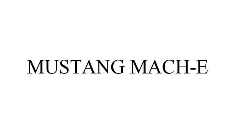 Ford Mustang Mach-E grafía