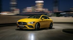 Mercedes-AMG CLA 35 4Matic frontal
