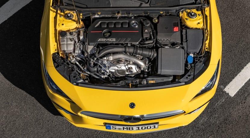 Mercedes-AMG CLA 35 4Matic motor