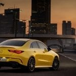 Mercedes-AMG CLA 35 4Matic zaga lateral