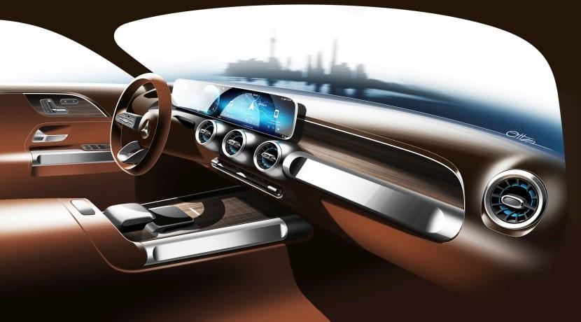 Mercedes-Benz GLB teaser