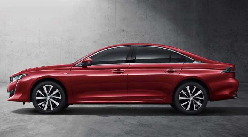 Peugeot 508L Hybrid Salón del Automóvil de Shanghai