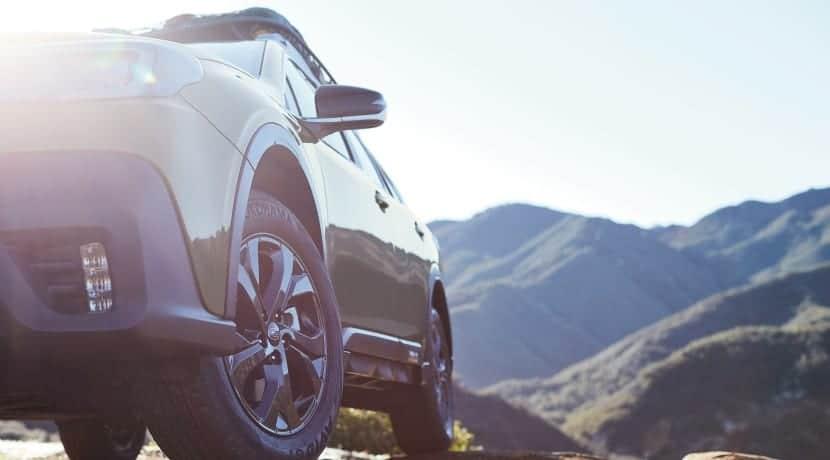 Subaru Outback teaser