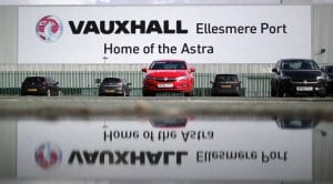 Vauxhall Astra Ellesmere Port Reino Unido