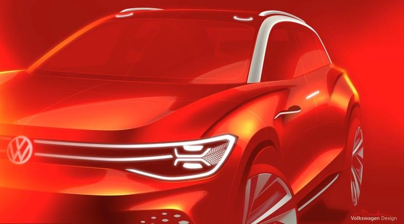 Volkswagen ID ROOMZZ SUV teaser