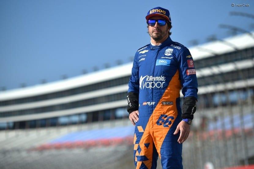 mono de la Indy para Alonso