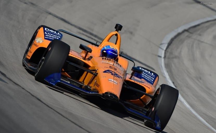 Alonso rodando en Texas