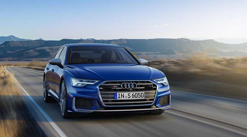 Dinámica perfil Audi S6 TDI