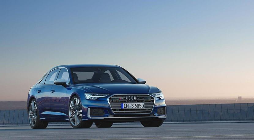Audi S6 TDI frontal
