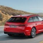 Audi S6 Avant dinámica trasera