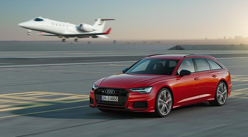 Audi S6 Avant dinámica perfil