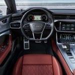 Interior del Audi S7 Sportback