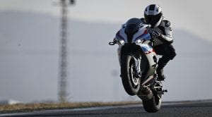 BMW S 1000 RR wheelie