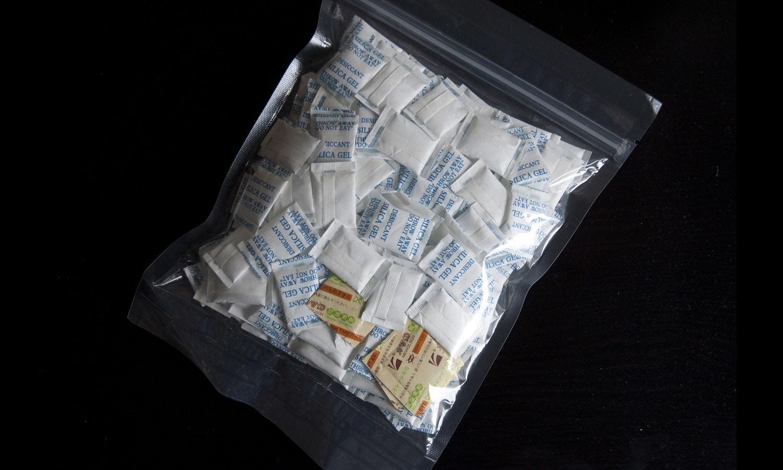 Bolsas de sílice para absorber las humedades del aire acondicionado