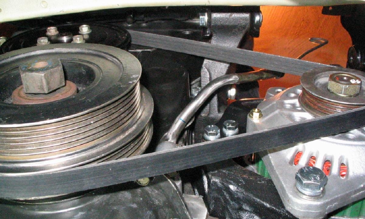 Si la correa del alternador se rompe no llega energía a los diferentes elementos