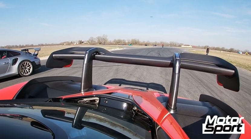 Drag Race McLaren Senna Vs Porsche 911 GT2 RS