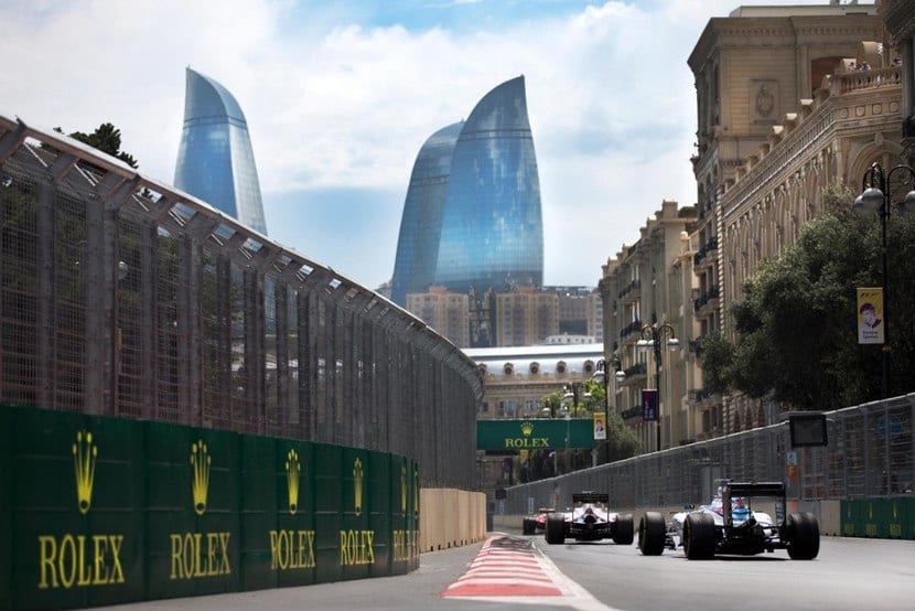 Calles de Bakú