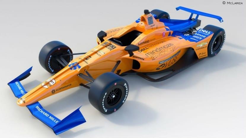 McLaren Indy para Alonso 2019