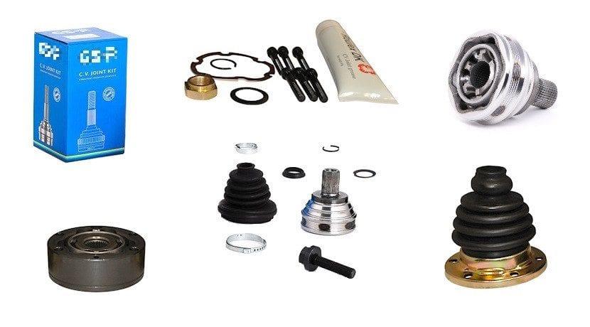 Pack de junta homocimética con fuelle, abrazaderas, grasa y demás componentes