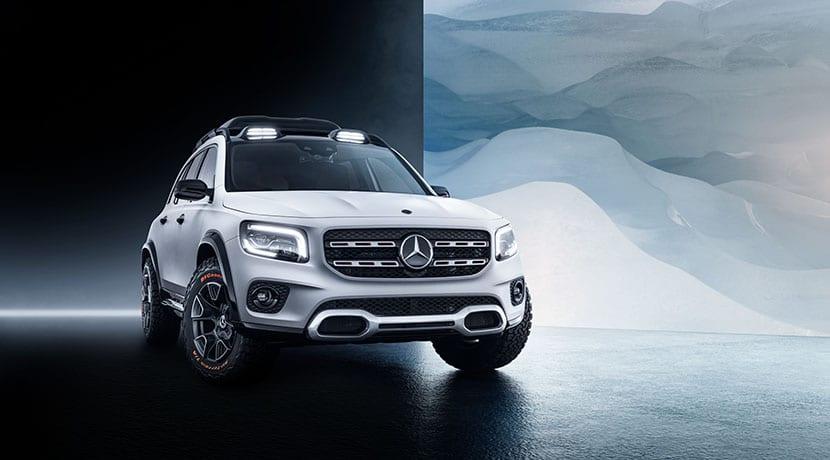 Mercedes GLB Concept perfil delantero