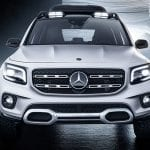 Mercedes GLB Concept frontal