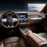 Mercedes GLB Concept interior