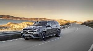 Mercedes-Benz GLS perfil