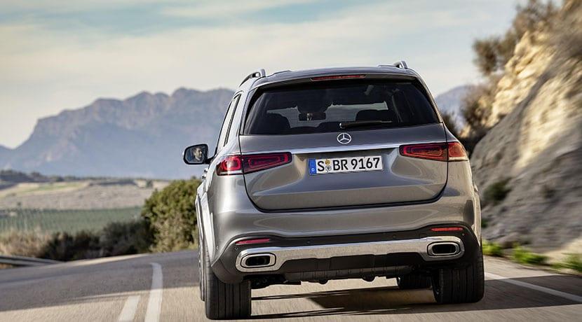 Mercedes-Benz GLS trasera