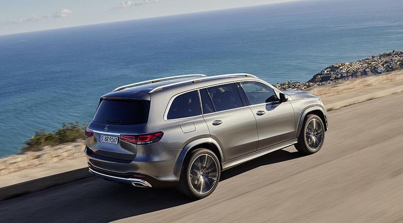 Mercedes-Benz GLS dinámica