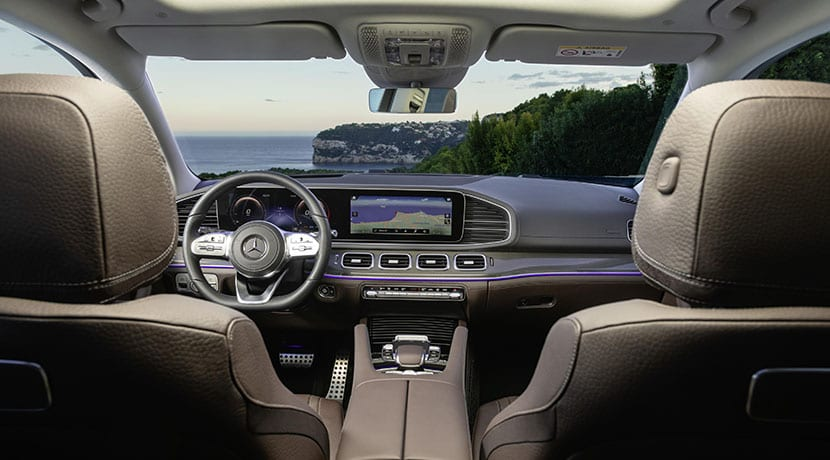 Mercedes-Benz GLS salpicadero