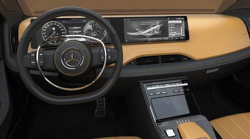 Interior del Mercedes Icon E Concept