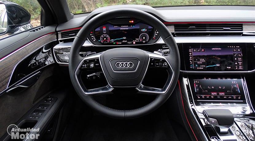 Pantallas del Audi A8